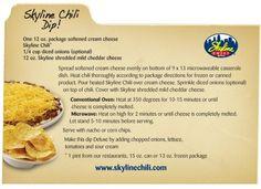Skyline Chili Dip :)