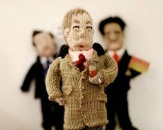 Love him or hate him, UKIP's Nigel Farage looks good both in knit and crochet! Visit KnitHacker to see both!