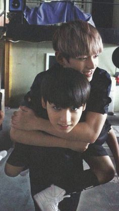 #VKOOK awww they were so little