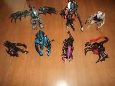 Kenner Alien Predator 7 Figure Lot More 1990s vs Queen Facehugger Bull   eBay