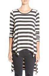 BP. Stripe High/Low Tunic Tee