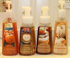 Bath & Body Works... Pumpkin everything. Pumpkin Spice is my favorite scent