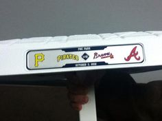 Here's the special bases being used this week in the series against the Pirates.