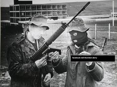 Creggan Brigade of the IRA Creggan,  Derry City 1970s