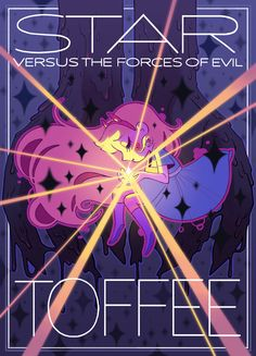 """arythusa: """"I boarded on two episodes of The Battle for Mewni, which airs July 15th!! Here's a li'l poster for the first one. The Battle for Mewni Part VII and VIII: TOFFEE """""""