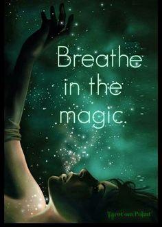 Breathe in the magic🌟