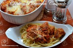 Chicken Parmesan Casserole -  Small_Town_Woman