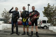 PADI dive training in the south of Tenerife, 5 star padi dive center. Opleiding, course.