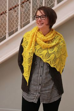 How to Wear A Shawl - Tin Can Knits