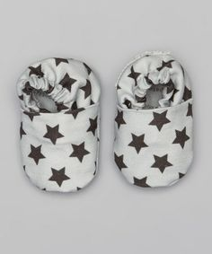 Another great find on #zulily! Gray Stars Booties by Bootie Patootie #zulilyfinds