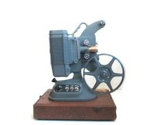 Antique Movie Film Projector 8mm DeJur Model 750 by ElmPlace,