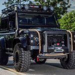 Custom & Clean! Land Rover Defender Spectre Edition – stupidDOPE