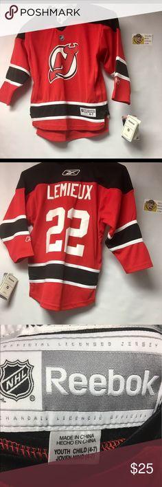 NWT Vintage Claude Lemieux NewJersey Devils Jersey NWT Vintage Reebok Claude Lemieux Youth Small New Jersey Devils Hockey Jersey. Reebok Shirts & Tops Tees - Long Sleeve