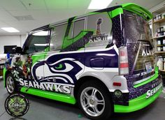 If I did this to the Soul, would it be overkill?! It's already Navy and has the Seahawks plates...