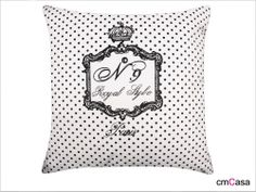 =cmCasa= 3416  Polka Dot Style Throw Pillow Case/Cushion Cover