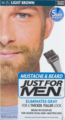 How To Dye Your Beard With Just For Men Beard & Mustache (The ...
