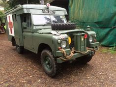 Land Rover 109 Serie III ambulance military.