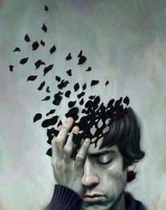 12 dzieł artystów, którzy zwizualizowali emocje towarzyszące ludziom pogrążonym w depresji – Demotywatory.pl