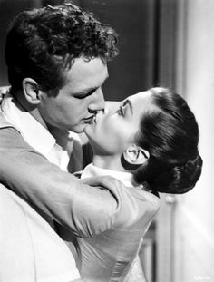 "Rocky Graziano (Paul Newman): ""You know, I've been lucky. Somebody up there likes me."" // Norma Graziano (Pier Angeli): ""Somebody down here too."" -- from Somebody Up There Likes Me (1956) directed by Robert Wise"