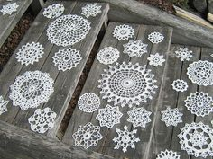 not sure about doilies, but could be other design/letters???@Ashleigh Finley