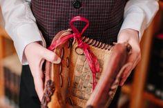 Baseball Glove Ring Box