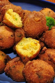 Hot and Spicy Hush Puppies - My friends and I made these last night to go with our dinner and they were AWESOME!!