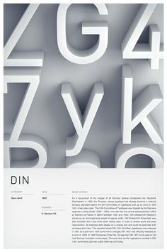 Type Posters by Woodhouse