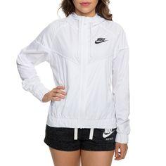 0e66d8cbb567 Nike Women s Nike Windrunner Jacket White black Nike Windrunner Black