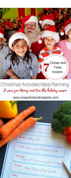Christmas Activities Meal planning frees up your time and your money so you enjoy your Holiday activities while still eating nutritious food Holiday Baking, Christmas Baking, Christmas Holidays, Christmas Activities, Nutritious Meals, Holiday Recipes, Meal Planning, Holiday Decor, Eat