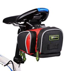 Bike Seat Packs - RockBros Bike Rear Saddle Seat Bag Bike Seat Packs Bicycle Seat Post Bag Fixed Gear *** To view further for this item, visit the image link.