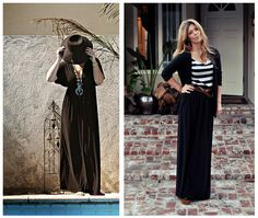 ...love Maegan ~ Fashion, DIY, Home, Lifestyle ~ blog  How to wear maxidresses and maxiskirts