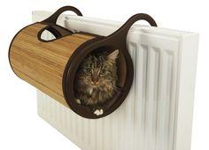 Cama para gatos con calefacción