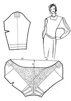 Разработка новых моделей одежды с использованием базовых конструкций (Учеб. пособие): 2.2.3. Моделирование сборок, защипов, драпировок »