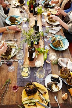 - Editorial farm to table lifestyle and food photo. - – Editorial farm to table lifestyle and food photo… - Planning Menu, Table D Hote, Mets, Dinner Table, Wine Dinner, Food Photography, Lifestyle Photography, Dinner Recipes, Party Recipes