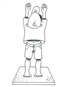 Bewegingsprent Speelkriebels Yoga For Kids, Exercise For Kids, Exercise Activities, Activities For Kids, Body Map, School Themes, Occupational Therapy, Preschool, Yoga