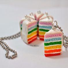 necklace -collana arcobaleno