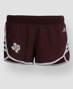 Texas A&M Adidas athletic shorts Summer Outfits, Girl Outfits, Cute Outfits, A&m College Station, Texas A&m, Cold Weather Outfits, Western Outfits, Ten, Striped Shorts