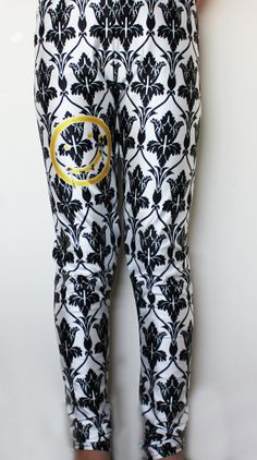 SHERLOCK BBC BORED Smiley Wallpaper Leggings by ConsultingFanGeeks, $50.00