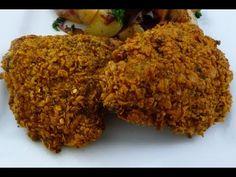 How To Make Laila Ali's Famous Oven Fried Chicken Crispy Oven Fries, Crispy Oven Fried Chicken, Fried Chicken Recipes, Fries In The Oven, World's Best Food, Good Food, Laila Ali, Salud Natural, Recipe Please