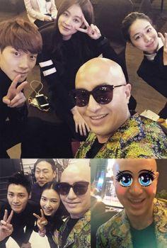 Rain, Lee Min Jung, Oh Yeon Seo and Hong Seok Cheon