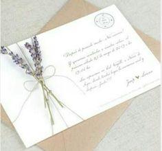 Lavanda's invitation