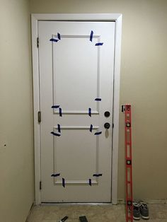 The easiest flat panel door update ever! | Jenna Sue Design Blog