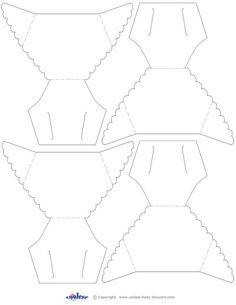 Blank Printable Diaper Invitation Coolest Free Printables | Shower ...