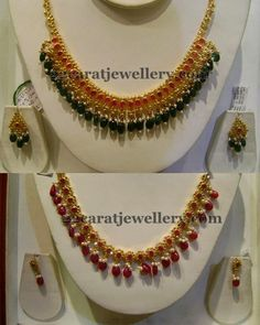 Amazing Uncut Diamond Sets with Drops - Jewellery Designs