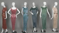 such a fun collection! Dresses    Mariano Fortuny