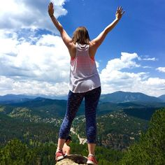 Hikes, Hard Tail and mountain views- what more could a girl want from her weekend? @hardtailforever #hardtailforever #nofilter #ontopoftheworld