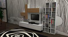 an idea of living room by Fabbri Group Italia