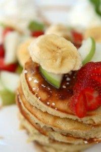 Cashew Butter Pancakes