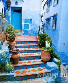 Morocco, Chaouen, la ville bleue