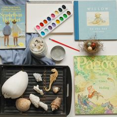 This sea study has some great resources to get your family excited about exploring and learning all about water life in your Charlotte Mason homeschool.